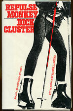 Repulse Monkey by Dick Cluster-First Edition/DJ-1989-Publisher Review Copy