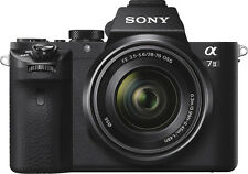 Open-Box: Sony - Alpha a7 II Full-Frame Mirrorless Camera with 28-70mm Lens -...