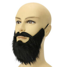 Costume Party Male Man Halloween Beard Facial Hair Disguise Game Black Mustache1