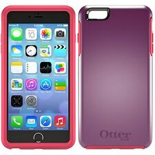 Genuine Otterbox Symmetry Series Shockproof Rugged Case For iPhone 6 6S Purple