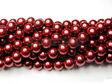 Wholesale 100Pcs Top Quality Czech Glass Pearl Round Beads 4mm