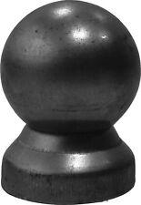 1x Runde Pfostenkappe mit Kugel Ø30mm Zierelemente Zierornamente Zaun 33x33mm