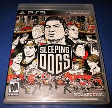 Sleeping Dogs Sony PlayStation 3 - PS3 - *Factory Sealed! *Free Shipping!