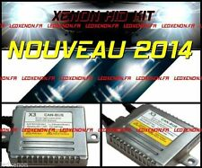 ★NEW 2014★ KIT CONVERSION XENON HID AMPOULE H1 H7 BALLAST ANTI ERREUR ODB CANBUS