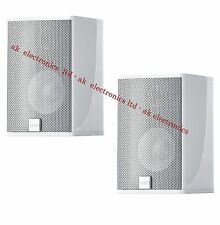 Canton CD 1020 Pair of 2 Surround Bookshelf Silver Speakers 200W Mag.Shielded