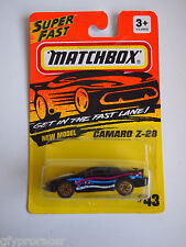MATCHBOX SUPERFAST #43 CAMARO Z-28 1993 ISSUE