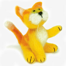 KITTY Felted Character Needle Felting Kit Dimensions