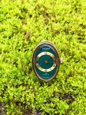 Vintage Sicura 17 jewel watch ring Swiss made very rare find