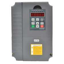 CNC 220VAC VARIABLE FREQUENCY DRIVE INVERTER VFD 7.5KW 10HP 34A