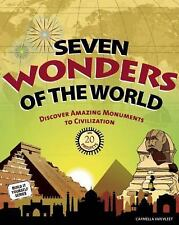 Seven Wonders of the World: Discover Amazing Monuments to Civilization-ExLibrary