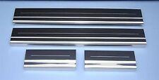 Ford C-Max C Max Polished Stainless Steel Door Sill Protectors / Kick Plates