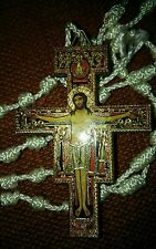 Small wooden cross for car Orthodox Russian Religious beautiful