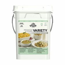 106 Meals VARIETY Food Storage Emergency Supply Bucket Rations Kit Survival mre