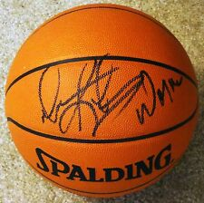 DENNIS RODMAN HAND SIGNED AUTOGRAPHED NBA GAME BALL! W/ THE WORM INSCR! W/ PROOF