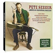 Pete Seeger American Industrial Ballads 2-CD NEW SEALED