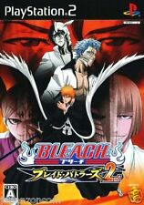 Used PS2  Bleach Blade Battlers 2nd SONY PLAYSTATION JAPAN IMPORT