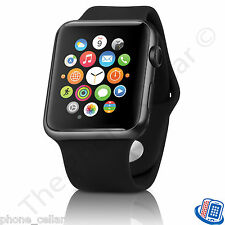 Apple Watch 38mm Black Stainless Steel Case with Black Sport Band MLCK2LL/A