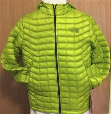 NWT LIGHTWEIGHT MENS NORTHFACE THERMOBALL HOODIE MEDIUM VENOM YELLOW