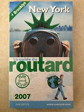 GUIDE DU ROUTARD NEW YORK 2007