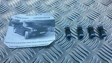 RANGE ROVER AIR SUSPENSION 6MM STRAIGHT AIRLINE CONNECTOR REPAIR SET OF FOUR