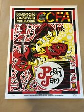 Pearl Jam Sydney Australia Poster Print Signed Ward Sutton