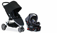 Britax 2017 B-Agile Stroller & B-Safe 35 Elite Travel System In Vibe New!