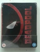 DEADPOOL STEELBOOK  BLU-RAY UK ZAVVI, EMBOSSED GLOSSY FINISH ESPAÑOL SOLD OUT