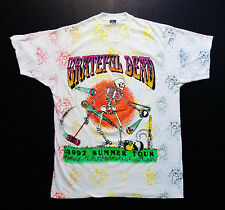 Grateful Dead Shirt T Shirt Croquet Skeleton Vintage 1992 Summer Tour XL NEW