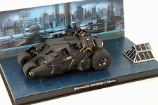 DC Batman Automobilia Collection #3 Batmobile Batman Begins 2005 schwarz 1:43