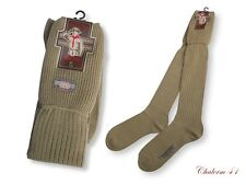 BOY SCOUT KNEE SOCK UNIFORM COMMANDER EXPLORER GARTERS KHAKI 1 PAIR VINTAGE