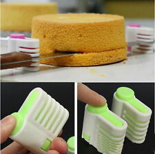 5 Layers Kitchen DIY Cake Bread Cutter Leveler Slicer Cutting Fixator Tools FE