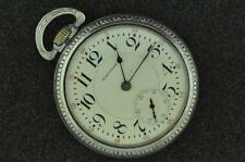 VINTAGE 16S WALTHAM 19J RIVERSIDE POCKET WATCH FROM 1911 KEEPING TIME