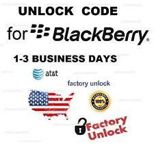 ATT Blackberry 9900 9700 9800 9360 8520 8300 8310 8320 8100 Unlock Code Service