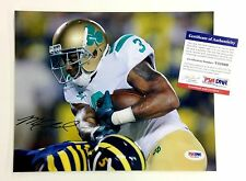 MICHAEL FLOYD SIGNED 8x10 NOTRE DAME UNDER THE LIGHT PHOTO PSA/DNA COA CARDINALS