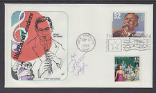 Patti Page, Singer, signed Big Band FDC