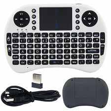 Sans fil 2.4G air souris clavier qwerty télécommande xbmc box android tv pc