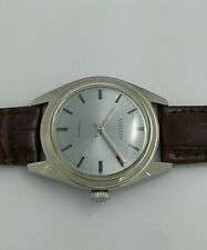 Vintage Citizen 63-8579 NOS Hand Winding Watch cal2520 Gray Dial 70's L2