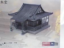 Tomytec n scale  Japanese Temple 028-3 Main Building / n gauge
