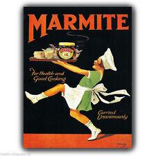 LETRERO METAL PLACA DE PARED MARMITE Vintage Retro impresión del arte del cartel