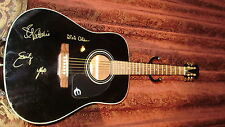 DIXIE CHICKS AUTOGRAPHED / SIGNED GIBSON EPIPHONE BLACK GUITAR! FLY CD ERA 2000!