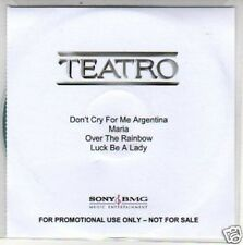 (H322) Teatro, Don't Cry for Me Argentina - DJ CD