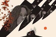 "MATT RYAN TOBIN HALLOWEEN ""Death Has Come to Your Little Town""  Art Print Poster"