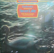 Tchaikovsky - Selections from Swan Lake By Ballet Theatre Orchestra Vinyl LP