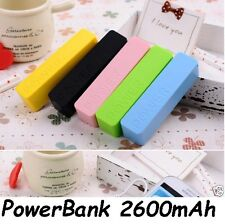 2600mAh Portable Power Bank External  USB Battery Charger For All Latest Phones
