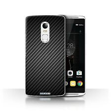 STUFF4 Case/Cover for Lenovo Vibe X3/Carbon Fibre Effect/Pattern/Grey