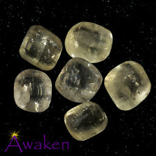 *ONE* GOLDEN/HONEY CALCITE Natural Tumbled Stone Approx 15-20mm *TRUSTED SELLER*