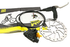 MAGURA JULIE RIGHT HAND REAR HYDRAULIC BRAKE COMP  LEVER, CALIPER & DISC 1350mm