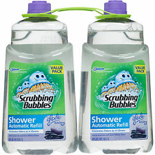 Scrubbing Bubbles Auto Shower Cleaner Refill, 34 fl oz, 2 Pack