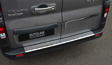 TO FIT VAUXHALL VIVARO 2014+: PREMIUM CHROME BUMPER SILL PROTECTOR TRIM COVER