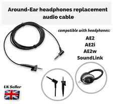 Replacement Audio Cable for BOSE Around-Ear AE2 AE2i AE2w SoundLink Headphones